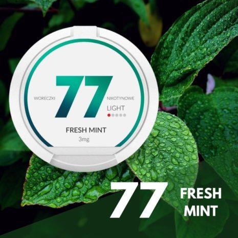 77 Fresh mint nikotiininuuska