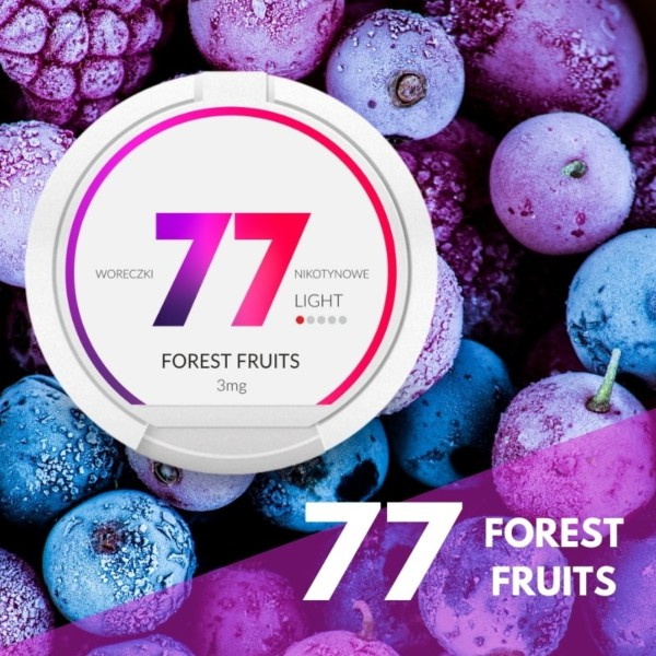 77 Forest fruits nikotiininuuska