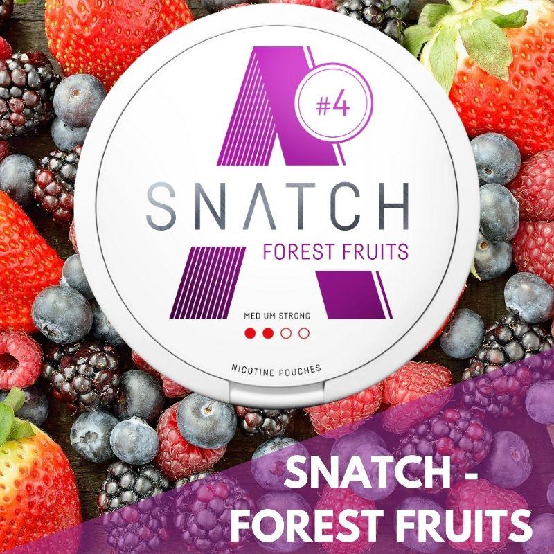 Snatch forest fruits nikotiininuuska