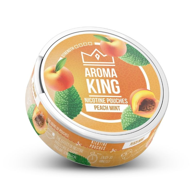 Aroma King peach mint