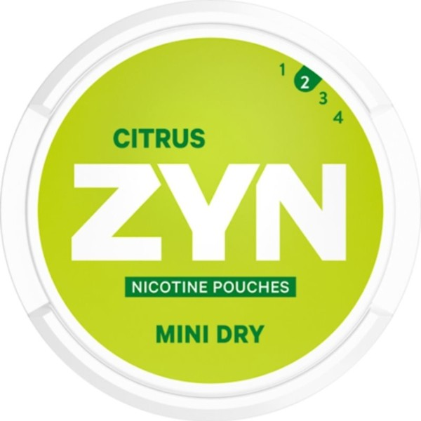 zyn citrus 3mg annospussi