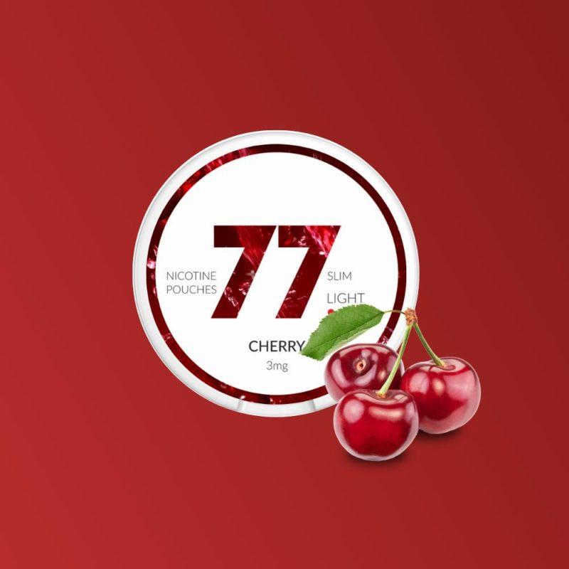 77 Cherry nikotiininuuska