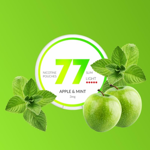 77 Apple & Mint nikotiininuuska