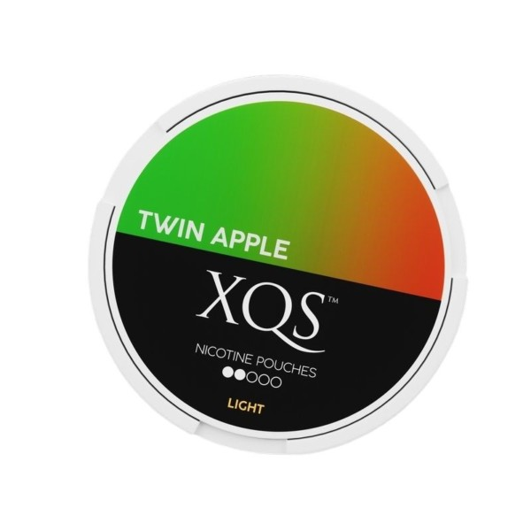XQS Twin apple nikotiinipussi