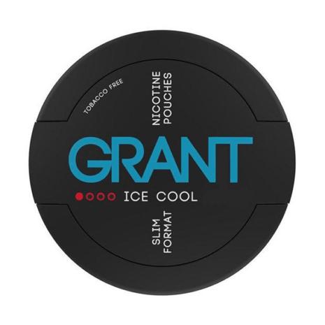 Grant - Ice cool nikotiinipussi