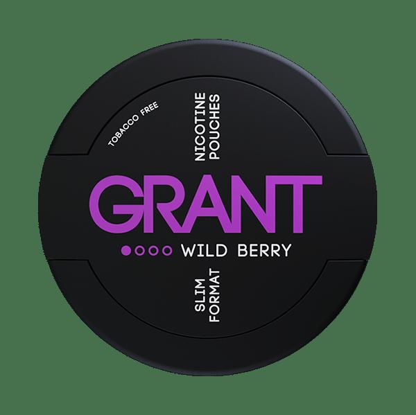 Grant - Wild berry nikotiinipussi